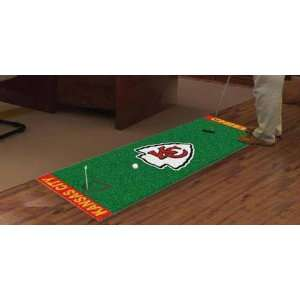 NFL   Kansas City Chiefs Golf Putting Green Mat