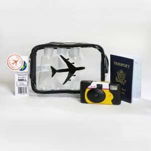 Clear Bag Store TSA Compliant Carry on Travel Cosmetic Toiletry Bag