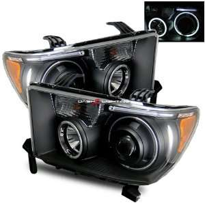 08 09 Toyota Sequoia CCFL Halo Projector Headlights