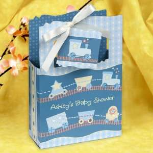 Train   Classic Personalized Baby Shower Favor Boxes Toys
