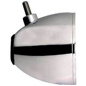 Bullet Headlight 3 Wire Hole Chrome Plated for Harley Davidson