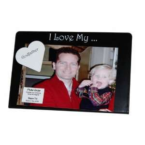 Godfather Magnet Frame Black and White