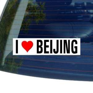 I Love Heart BEIJING Window Bumper Sticker Automotive