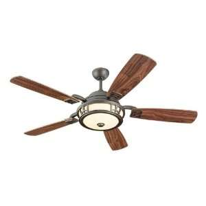 Monte Carlo Fans 5MZR54RBD Three Light Bronze Ceiling Fan