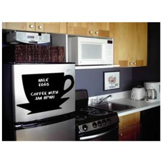 Appliance Art Instant Chalkboard Coffee Cup Large Wall Decor