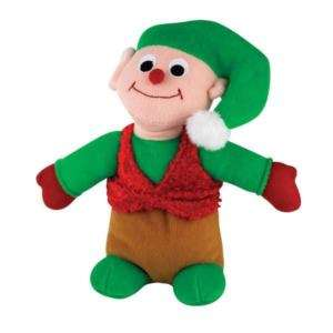 ZANIES HOLIDAY FRIENDS DOG TOY ELF PLAYS JINGLE BELLS