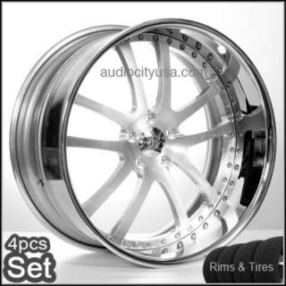22 AC Forged 3PC Wheels and Tires Impala,Lexus,Honda,Audi,For BMW