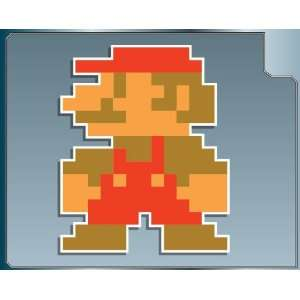 MINI MARIO 8 bit from Super Mario Bros. vinyl decal