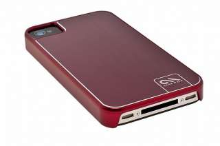 Case mate Barely There Brushed Aluminum Case for iPhone 4 / 4S (Red