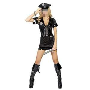 Police Officer Uniform Woman Costume Female Cosplay Valentines Party