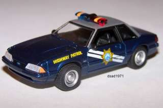 1989 FORD MUSTANG LX NEVADA HIGHWAY PATROL POLICE CAR